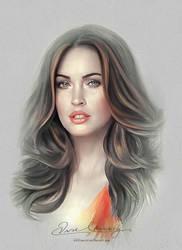 Pretty Face - Megan Fox by artistamroashry