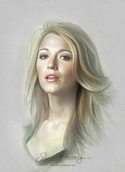 Pretty Face - Blake Lively by artistamroashry