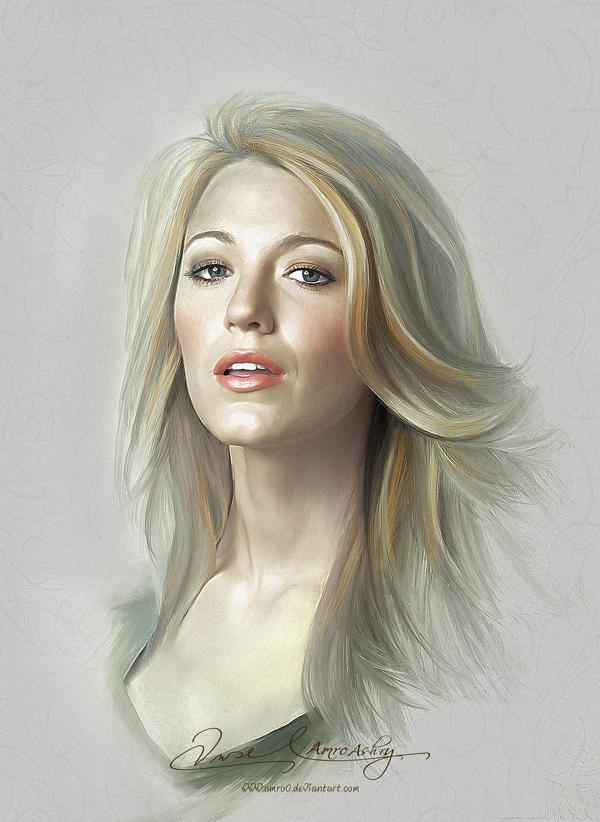 Pretty Face - Blake Lively by Amro0