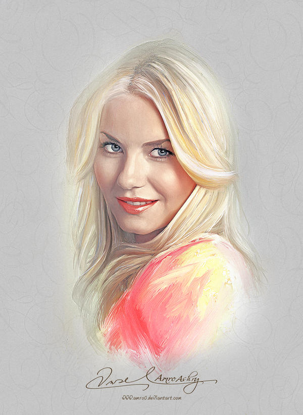 Pretty Face - Elisha Cuthbert by Amro0