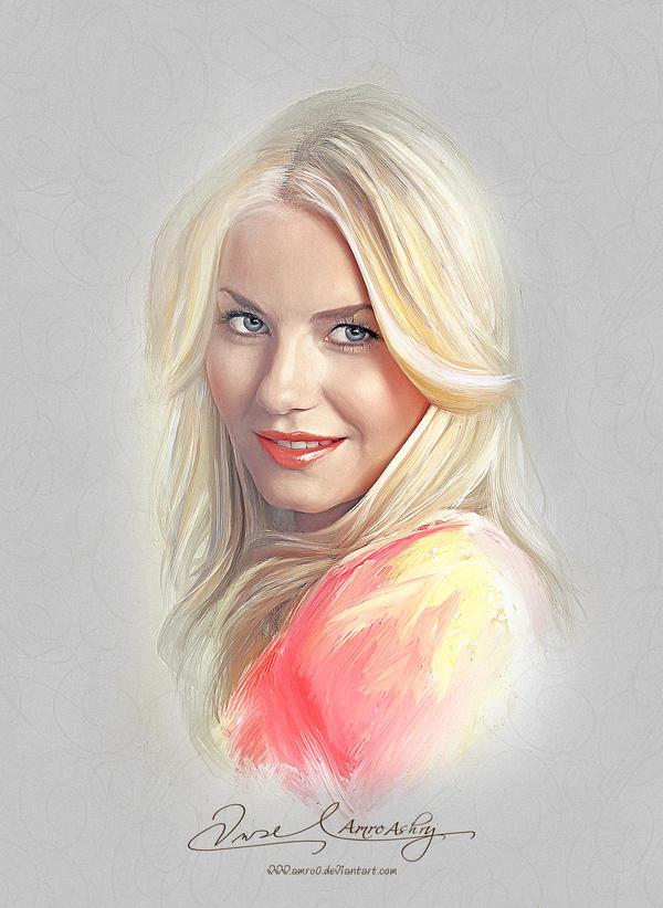 Pretty Face - Elisha Cuthbert by Amro0