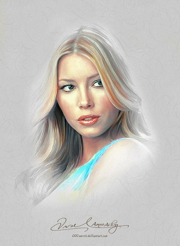Pretty Face - Jessica Biel by Amro0