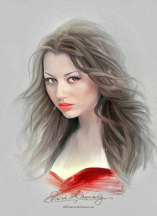 Pretty Face - Safura Alizadeh by Amro0