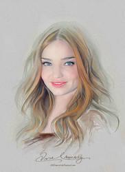 Pretty Face - Miranda Kerr by artistamroashry