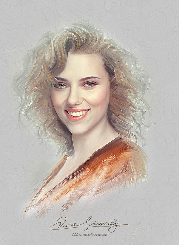 Pretty Face - Scarlett Johansson by Amro0