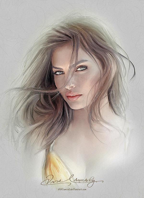 Pretty Face - Alyssa Miller by Amro0
