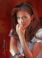Stana Katic - Kate Beckett in CASTLE by artistamroashry
