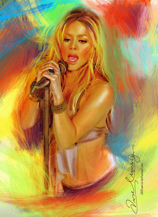 Live the music - Shakira 2 by Amro0