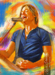 Live the music - Keith Urban 3 by artistamroashry