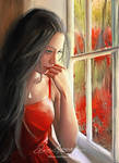 Thinking of you by artistamroashry