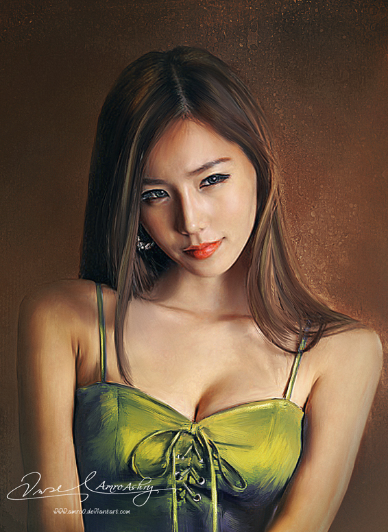 Asian Beauty 10 (Commissioned Artwork) by Amro0