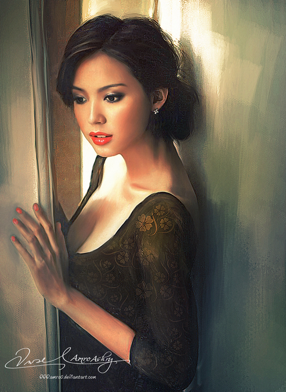 Asian Beauty 12 (Commissioned Artwork)