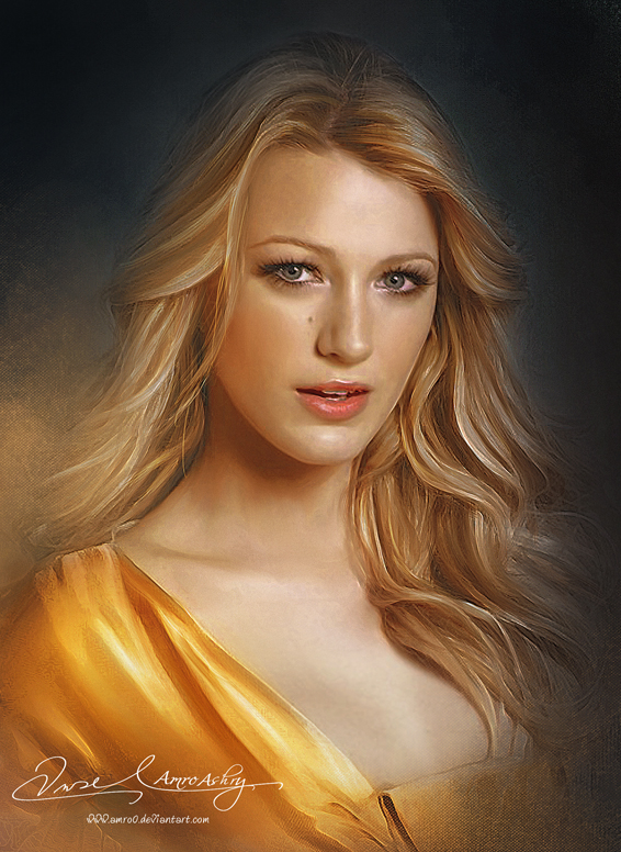 Pretty Face P2 -Blake Lively by Amro0