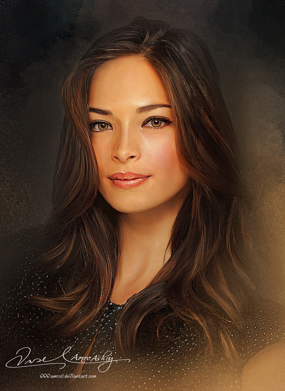 Pretty Face P2 - Kristin Kreuk by Amro0