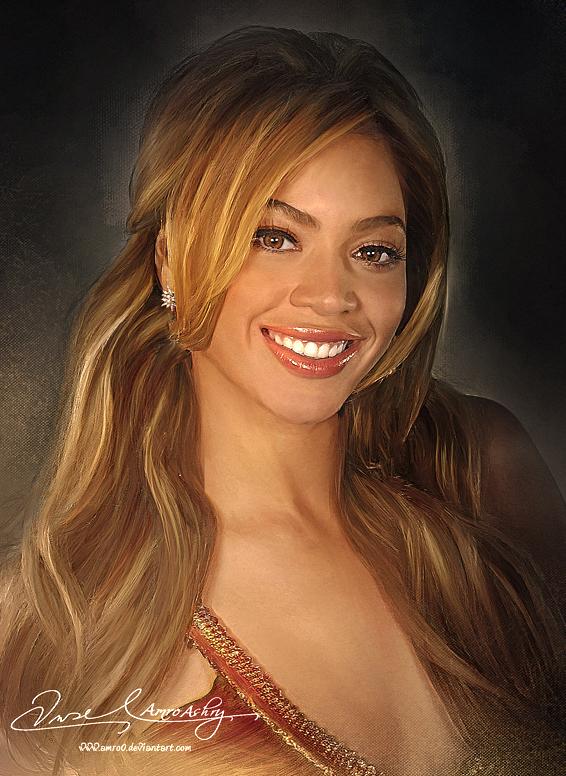 Pretty Face P2 - Beyonce by Amro0