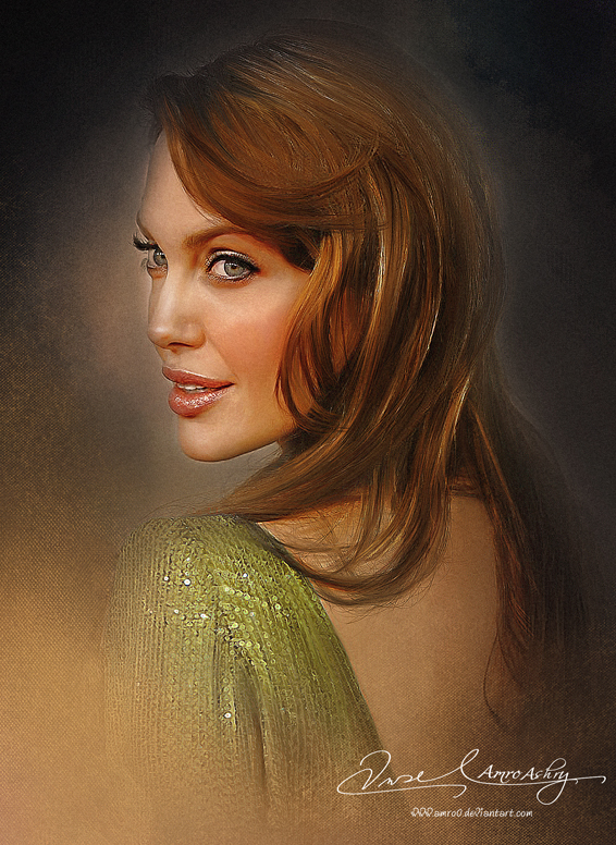 Pretty Face P2 - Angelina Jolie by Amro0