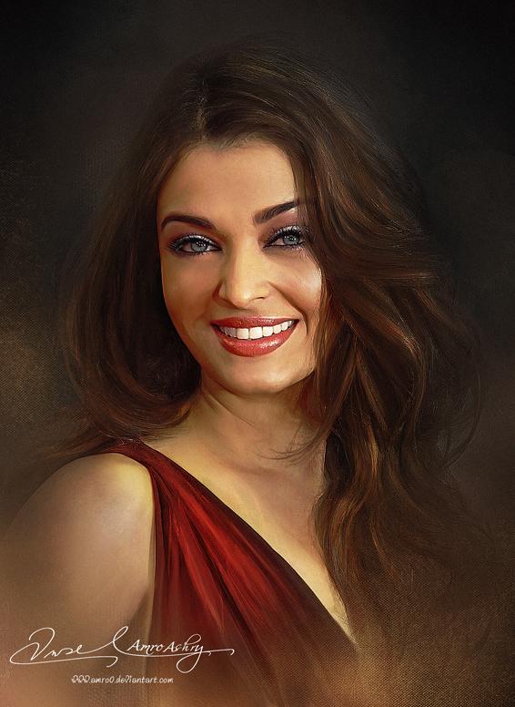 Pretty Face P2 - Aishwarya Rai by artistamroashry