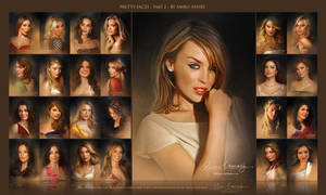 Pretty Faces 2nd collection by Amro Ashry by artistamroashry