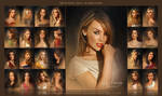 Pretty Faces 2nd collection by Amro Ashry
