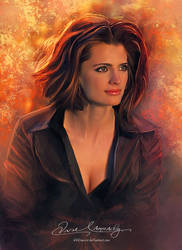 Stana Katic - Heat News Magazine France issue #4 by artistamroashry
