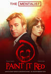 The Mentalist - Paint it red - Poster