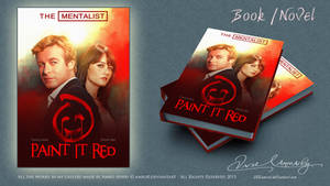 The Mentalist - Paint it red book cover 2