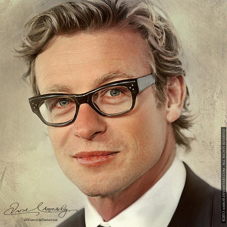 Simon Baker by artistamroashry