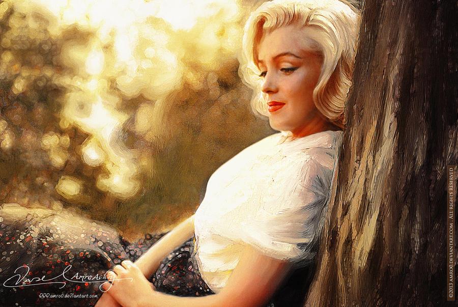 Marilyn Monroe by artistamroashry