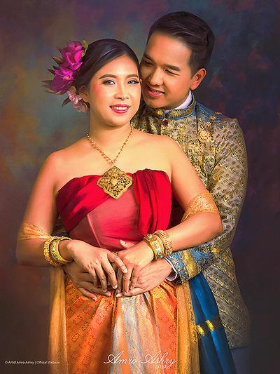 Asian Wedding by artistamroashry
