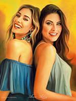 Happy Girls by artistamroashry