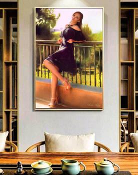 Enchanted on frame
