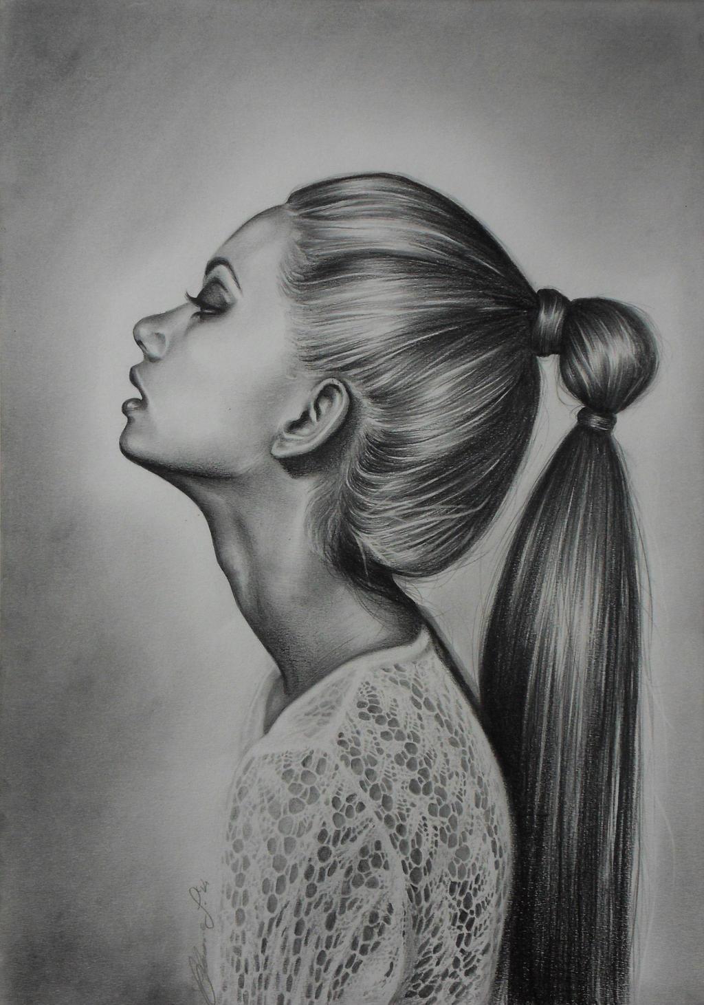 Neckline Drawing : Neck by antigone on deviantart