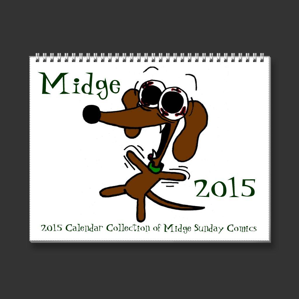 Midge calendar 2015 by SunnyArts