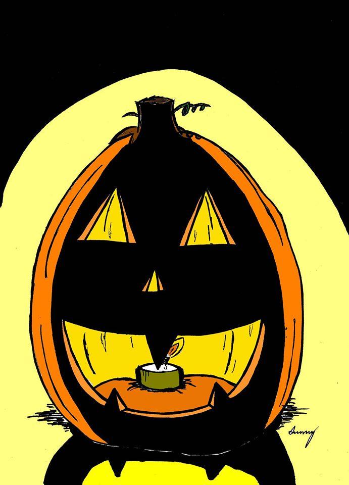 Jack o'lantern by SunnyArts
