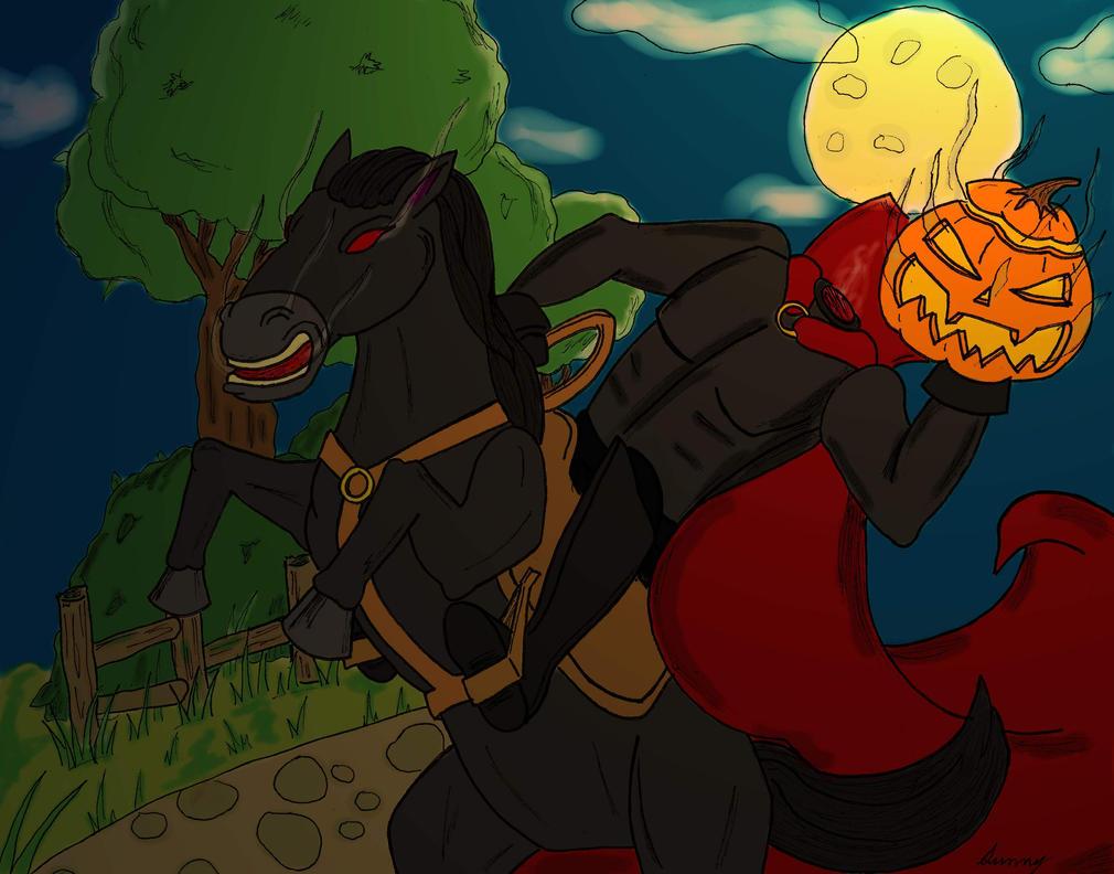 Headless Horseman by SunnyArts