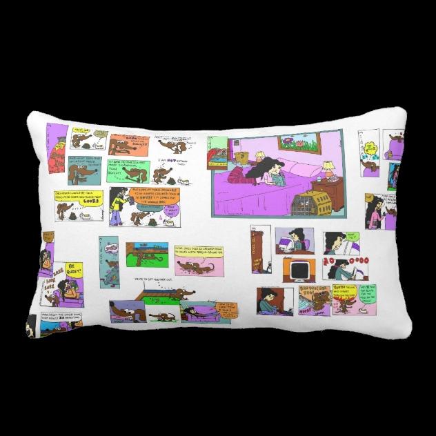 Midge Pillow (2) by SunnyArts