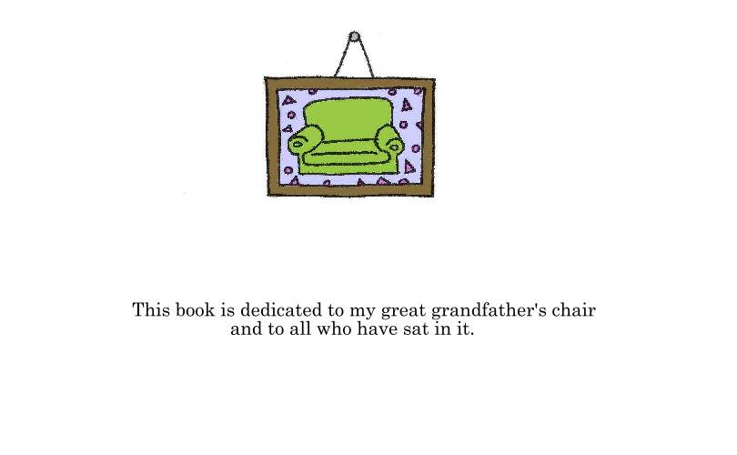 The Life of a Chair dedication page by SunnyArts