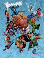 Indonesian Super Heroes by RagaLangit