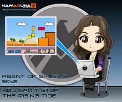 Skye - Agents of S.H.I.E.L.D. by Hawaruna