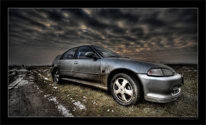 Dirty Honda Civic VTi by miki3d