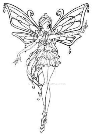 Winx Bloom Enchantix Da Colorare