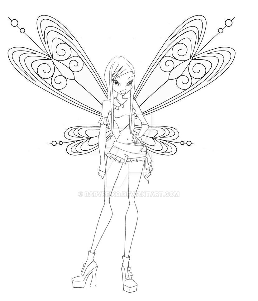 roxy coloring pages - photo#31