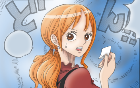 One Piece scan 836 - Nami colored by OphiuchusD