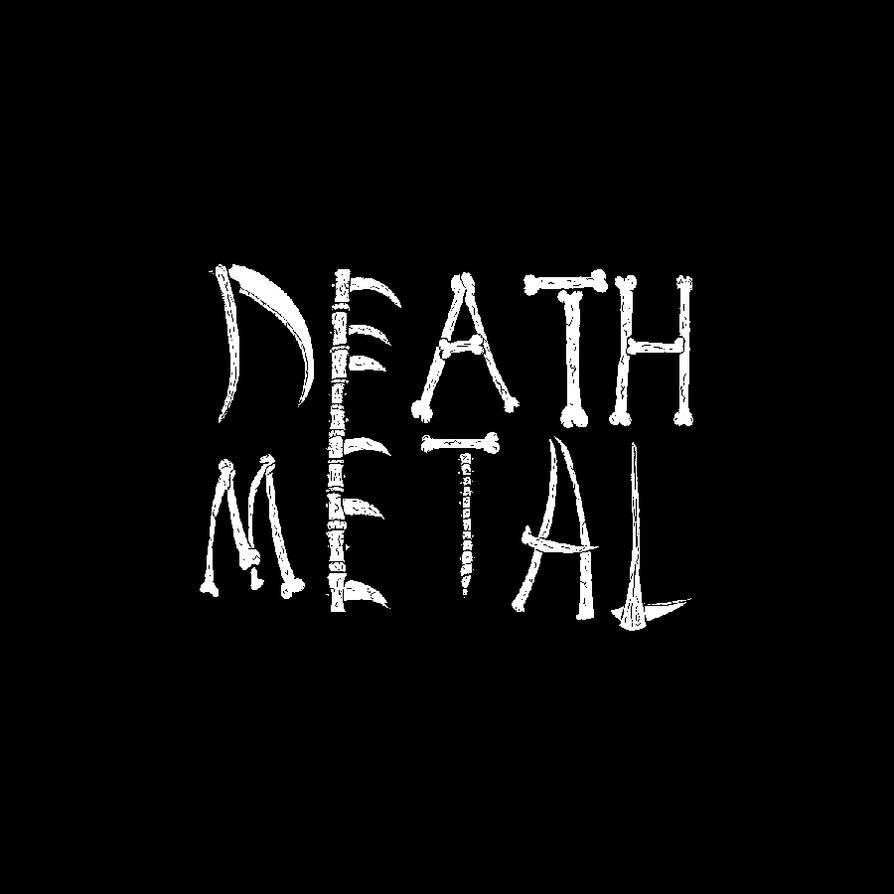 Death Metal Logo by Fragraham