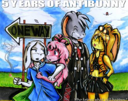 5 years of AntiBunny