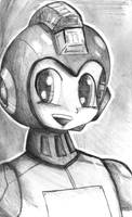 Another Megaman Sketch by Fragraham