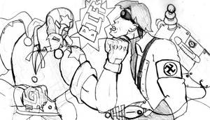 UncleSlam vs. Ze Doktor by Fragraham