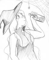 Witchy Sketch by Fragraham