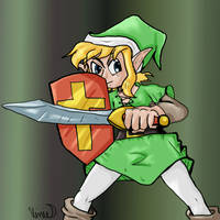 Let's Draw Classic Link by Fragraham