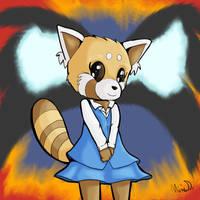 Let's Draw Aggressive Retsuko by Fragraham